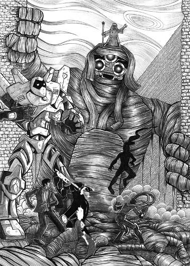 los arqueonautas 078, cómic de ciencia ficción