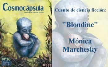 cuento de ciencia ficcion uruguaya, blondine